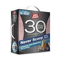 Super Absorbent 30 Day Cat Litter Супер-адсорбирующий наполнитель. Достаточно просеивать! На 30 дней! 4.1кг