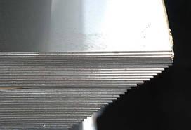 Лист нержавейка AISI 304 пищевой (08Х18Н10/12Х18Н10) 2В, NO-1,4N, BA 0,5-100 мм