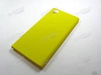 Чехол пластиковый Lenovo P70 (желтый)