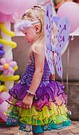 Б/У Яркое платье zulily (наряд феи) на 2,5-3,5 года