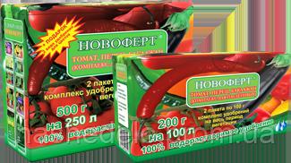 Новоферт Пасльонові 200 гр (водорозчинне добриво NPK 5-18-28+8СаО+0,4+ме)