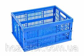 Ящик полимерный раскладной (488х355х235) 15кг ТМ Мед