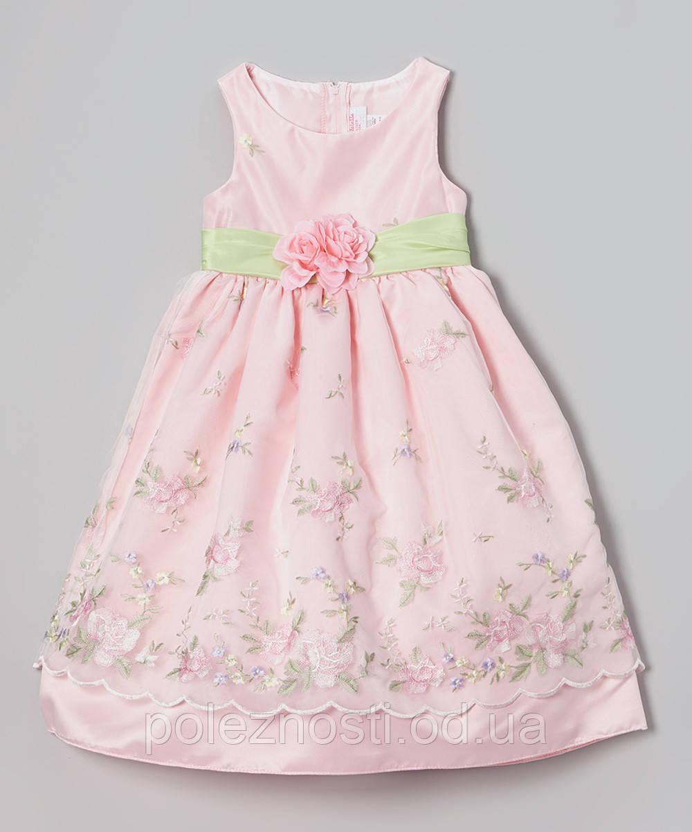 170868f6919 Б У Нарядное платье для девочки 4-5 лет (б у)