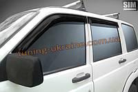 Дефлекторы окон (ветровики)  SIM для УАЗ Patriot