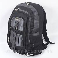 Рюкзак спортивный черно серого цвета фирмы Boslang