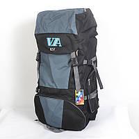 Вместительный туристический рюкзак фирмы VA на 85 литров - 87-721