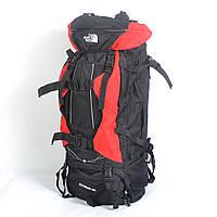 Туристический рюкзак The North Face на 100 литров (красный)