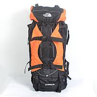 Туристический рюкзак The North Face на 100 литров (оранжевый)