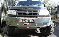 Дефлектор капота VIP для УАЗ Patriot Sport