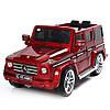 Детский электромобиль Mercedes G55 ELRS-2: EVA-колеса, мягкие сидения - vinous