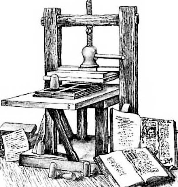 История технологии печати шелкографией