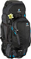 Рюкзак туристический женский Deuter Quantum 60+10 SL black/turquoise (3510315 7321)