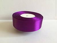 Лента атласная цвет №35 (фиолетовый) шириной 2,5 см
