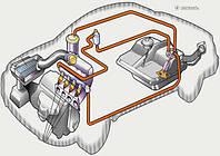 Топливная система Mercedes W168 A-Class.