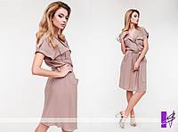 Платье штапельное - 0821