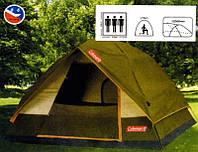 Палатка четырехместная Coleman 6319 зонтик (Польша)