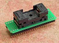 Адаптер переходник DIL48 в TSOP48 ZIF 18.4mm, фото 1