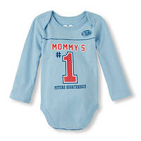 Боди с длинным рукавом для новорожденного мальчика 0-3 мес. The Children's Place (США)