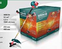 Бензокоса Spektr SGT-5000 3ножа+2 лески
