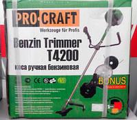 Бензокоса ProCraft Т-4200 3ножа+1леска