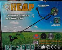 Бензокоса Кедр БГ-3900 3ножа+1леска+1 паук