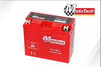 Гелевый аккумулятор АКБ YT12B-4 Мототех/MotoTech