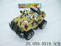 """Машина инерц. """"Джип-Армия"""", в п/э 28х9х18 /48-2/(95512)"""