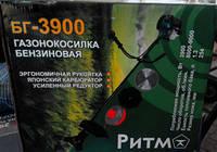 Бензокоса Ритм БГ-3900 3ножа+1леска