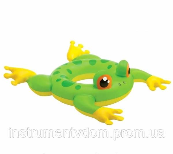 """Детский надувной круг для плавания """"Лягушонок"""" INTEX 58221 (76х56 см)"""