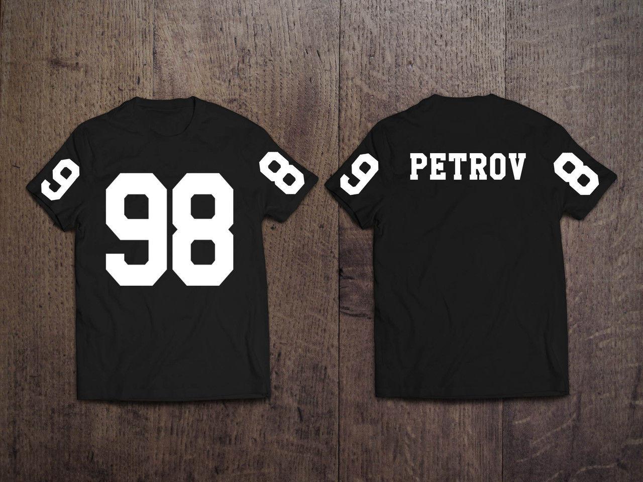 Мужская именная футболка Ваш любимый номер и Фамилия/Имя