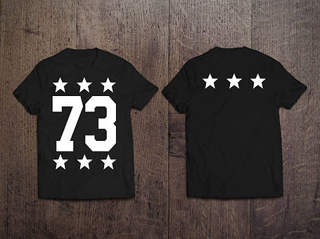 Мужская именная футболка (звезды), фото 2