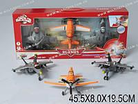 "Самолеты инерц. ""Литачки"", набор 3 шт., в кор. 45х8х19 /36-2/(XZ-107)"