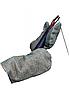 Рукавицы рабочие двунитка с двойным брезентовым наладонником