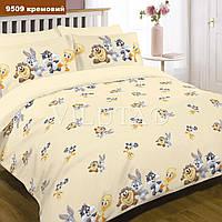 Комплект постельного белья Вилюта детское ранфорс 9509 кремовый