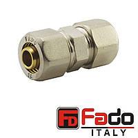 Муфта 32х32 разборная обжимная FADO Италия