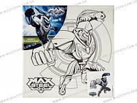 Холст с контуром 25х25 см Max Steel /1/24//(MX14-217K)