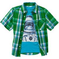 Рубашка + футболка Комплект