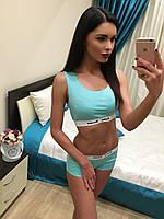Классный спортивный женский костюм для фитнеса