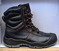 Оригинальные зимние высокие кожаные ботинки на меху REIS BCW (Польша)