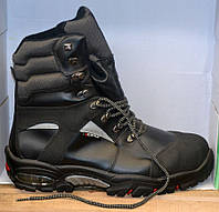 Оригинальные кожаные утепленные ботинки «Cofra» Италия