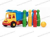 """Машина """"Multi truck"""" грузовик с кеглями Тигрес /12/(32220)"""