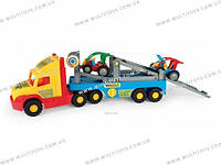 """Машина """"Super Truck"""" с легковыми авто Тигрес /3/(36630)"""