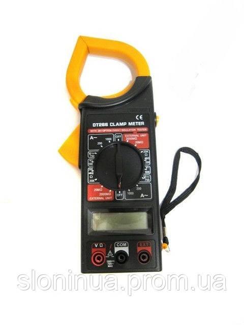 Мультиметр-токовые клещи DT-266