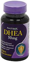 DHEA (ДГЭА, дегидроэпиандростерон) Natrol, 50 мг, 60 таблеток. Сделано в США., фото 1