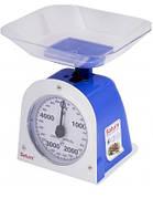 Весы кухонные чаша 5кг механические SATURN ST-KS 1236 Blue