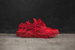 Кроссовки Nike Air Huarache Run Red Premium, фото 2