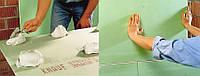 Монтаж стен из гипсокартона на клей