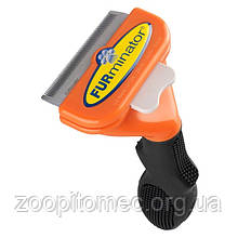 Фурминатор FURminator для довгошерстих собак, розмір M (9-23 кг)
