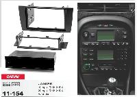 2/1-DIN переходная рамка JAGUAR X-type 2002-2008, S-type 2003-2008  w/pocket, CARAV 11-154