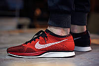 Кроссовки Nike Flyknit Racer Red/Black